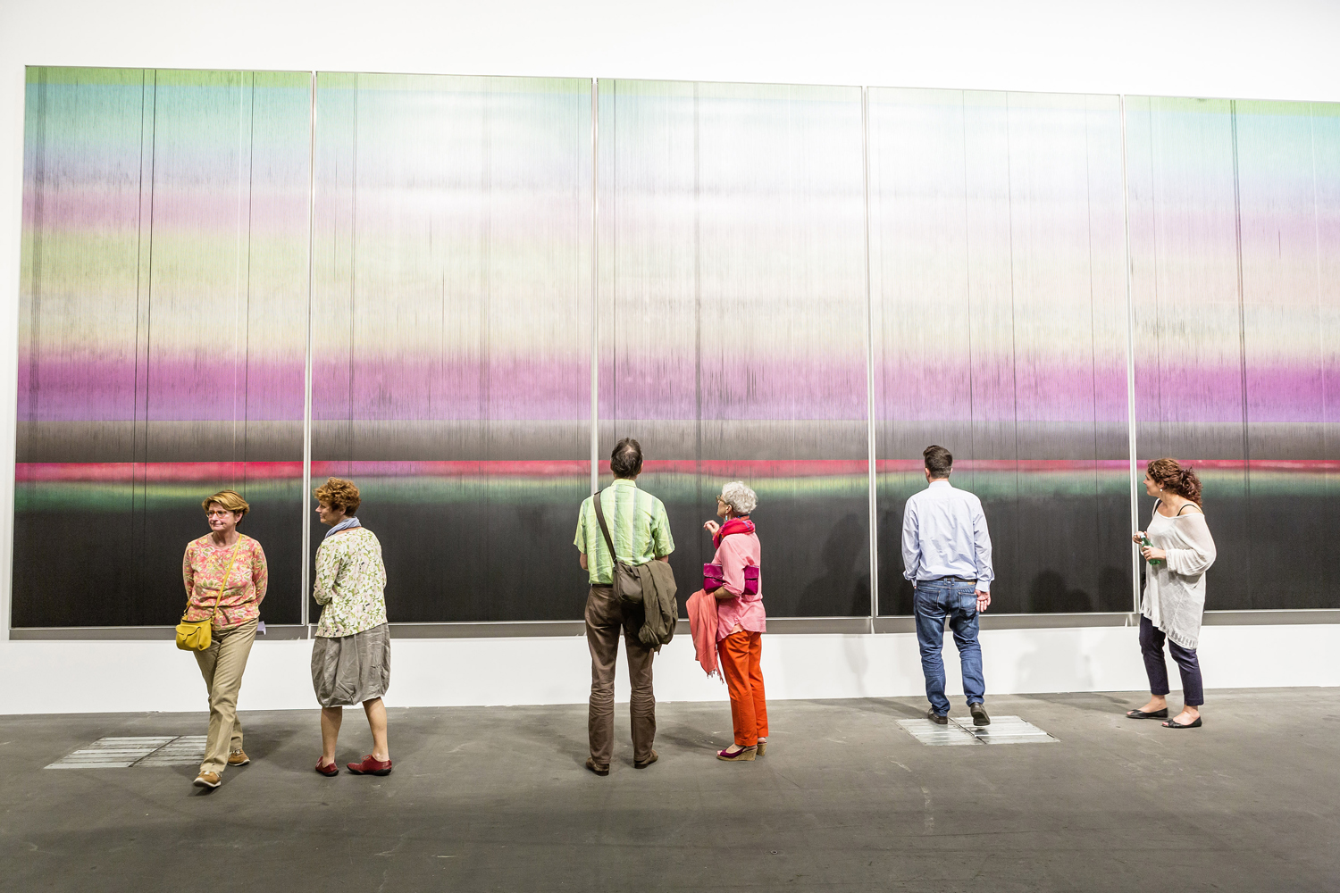 Art Basel in Basel 2015 | Unlimited | Long March Space | Liu Wei | The East No.5, 2015