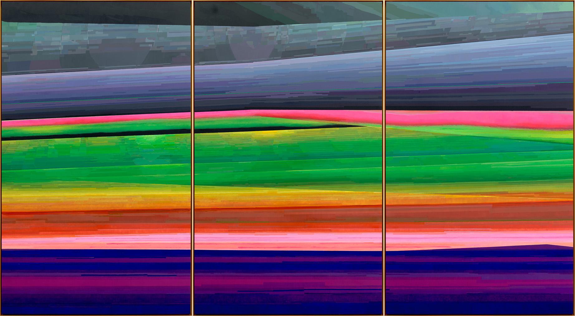 Liu Wei, Panorama No.5, 2016-2017