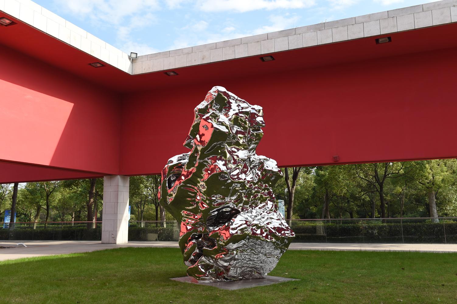 展望 雕塑 长征空间