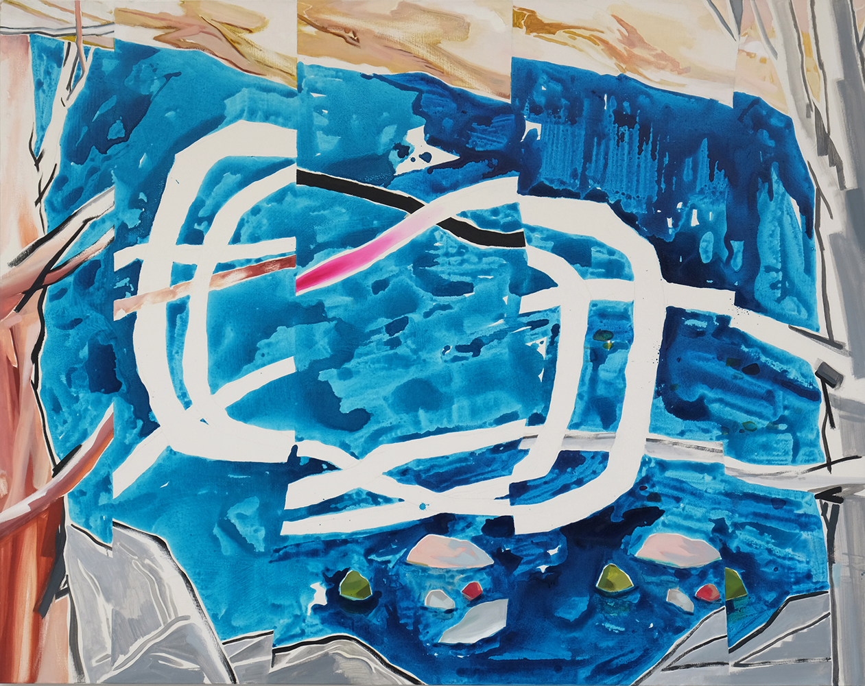 rsuntie-the-wind-oil-and-acrylic-on-canvas-190x150cm
