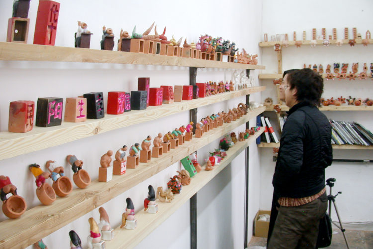 Liang Shuo: The Power of the Public Realm, Phase V: Sculpture Toys/Temple Fair