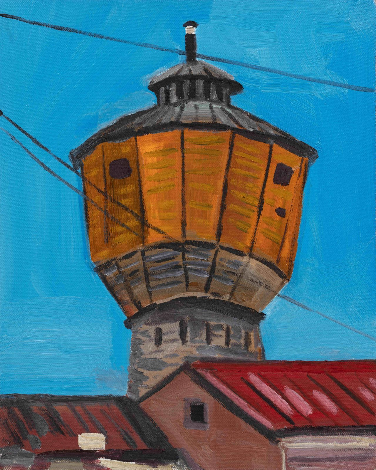 """The North-East"" Series–Water Tower"
